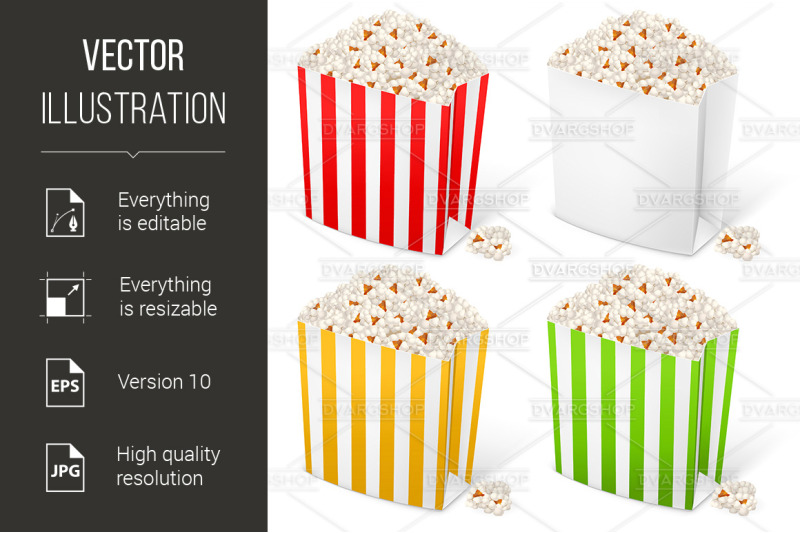 popcorn-in-multi-colored-striped-packages
