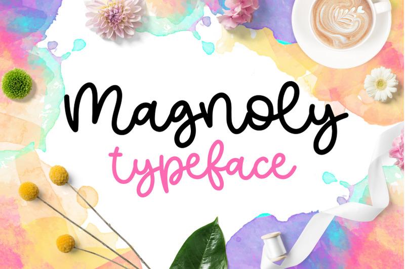 magnoly-handwritten-font