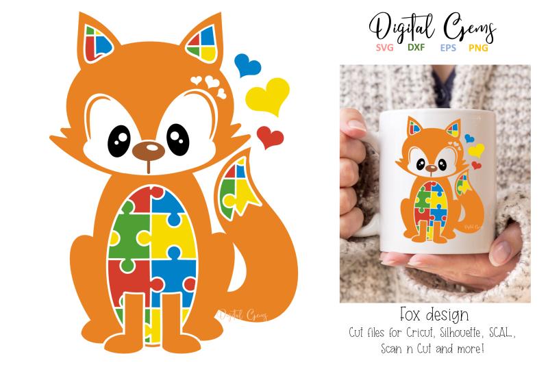 fox-jigsaw-autism-design
