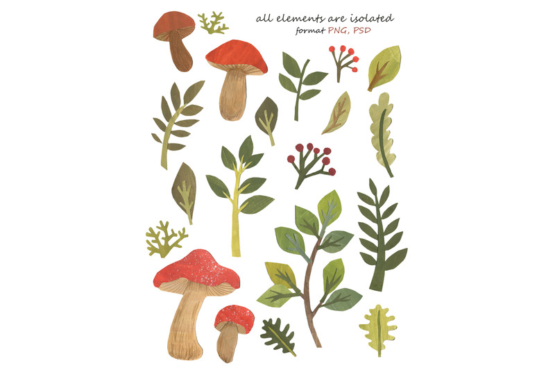 papercut-forest