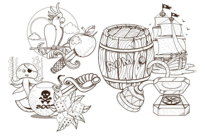 pirates-coloring-book