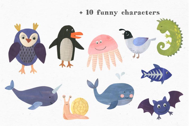 papercut-animals-clipart