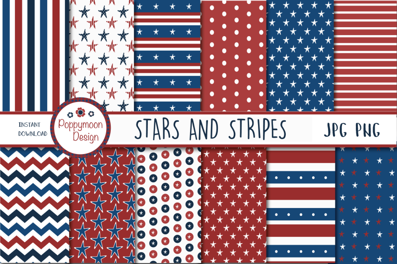 stars-and-stripes-paper