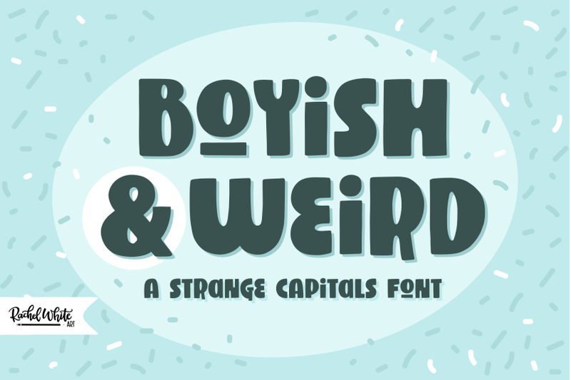 boyish-amp-weird-a-strange-capitals-font