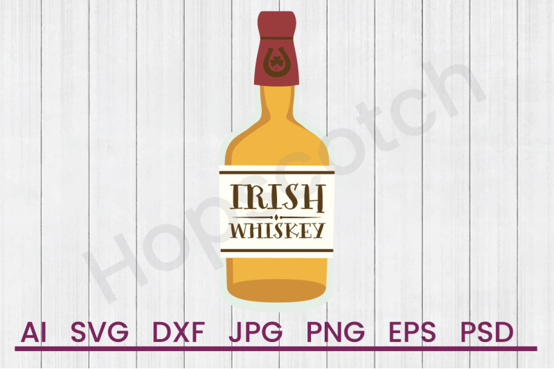 irish-whiskey-svg-file-dxf-file