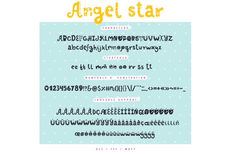 angel-star-decorative-typeface