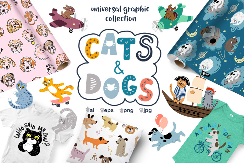 cats-and-dogs-universal-collection