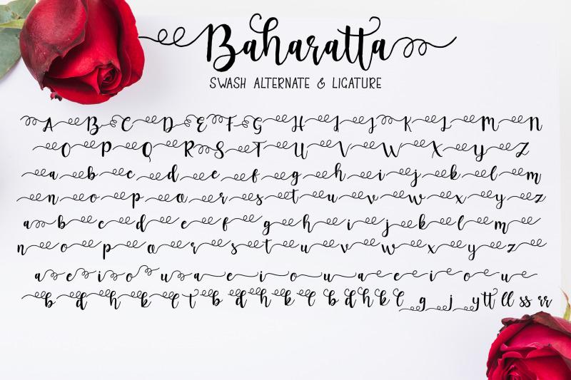baharatta-script-handwritting-font-duo