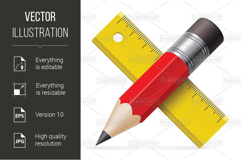 pencil-ruler