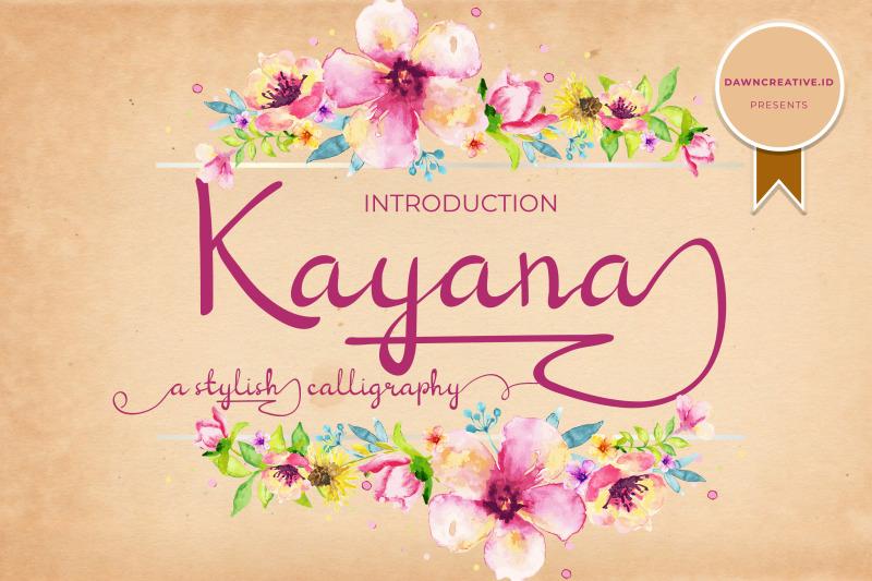 kayana-script