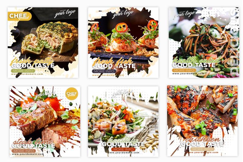 instagram-post-template-food