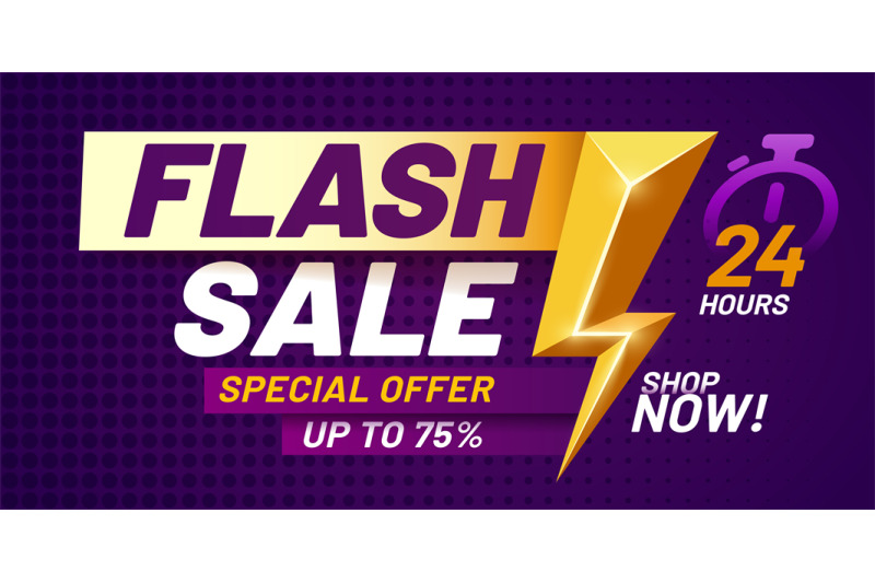 flash-sale-poster-lightning-offer-sales-special-night-deal-and-flash