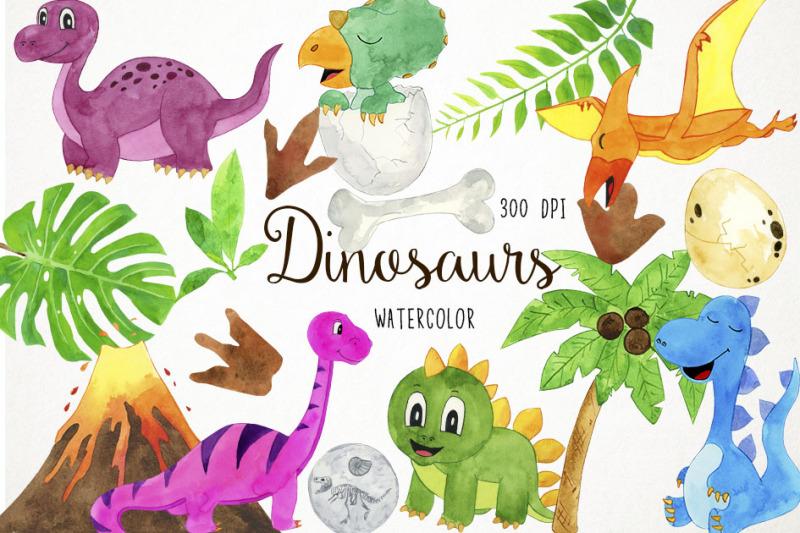 watercolor-dinosaurs-clipart-dinosaurs-clip-art-dino-clipart-dino-c