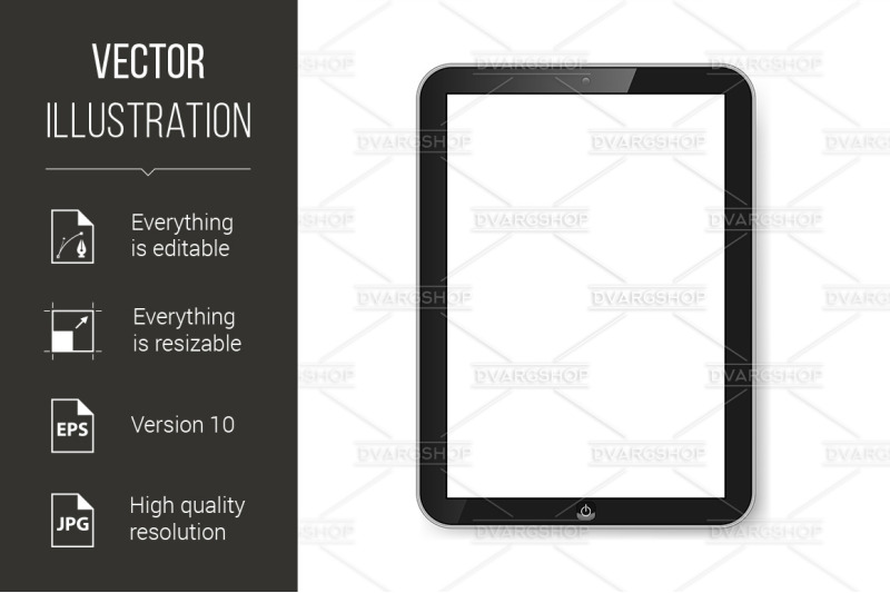 tablet-with-blank-screen