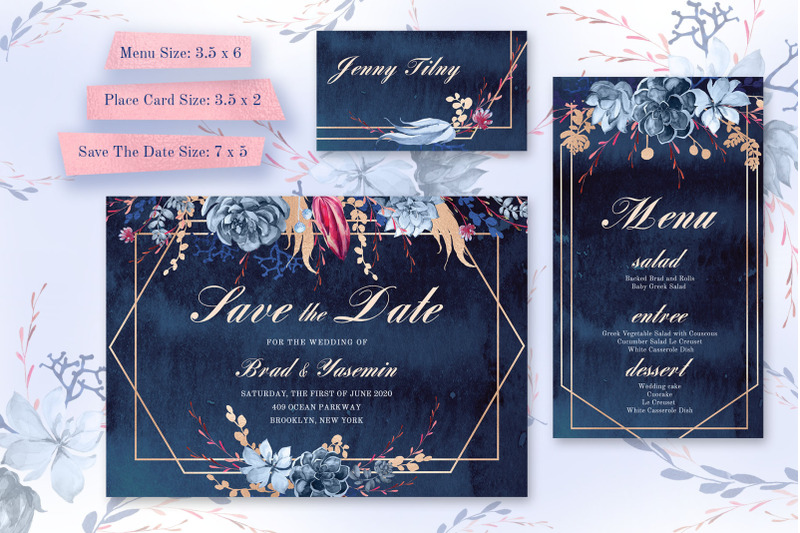 navy-watercolor-wedding-invitations