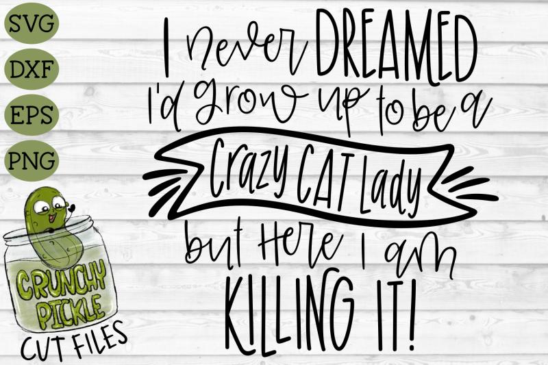 crazy-cat-lady-svg