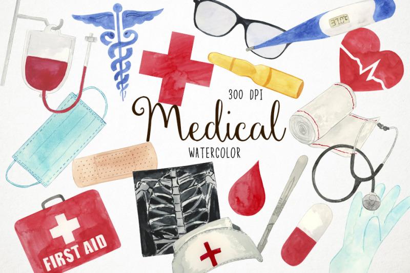 watercolor-medical-clipart-medical-clip-art