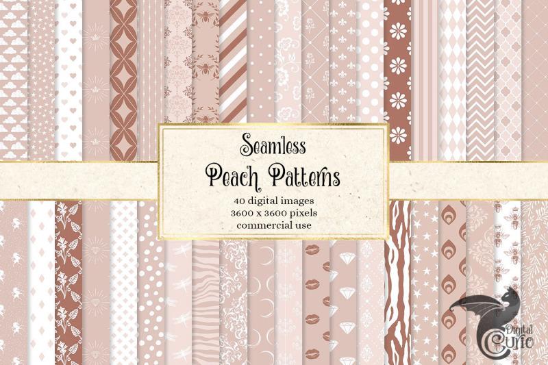 peach-digital-paper-patterns
