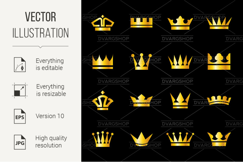 set-of-icons-crowns