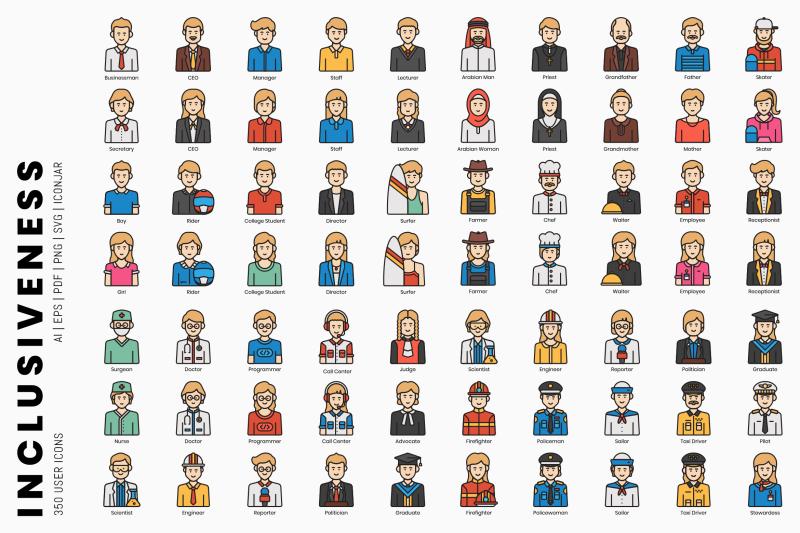 inclusiveness-350-user-icons