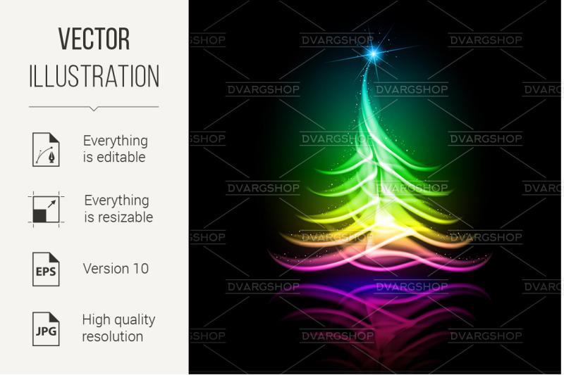 vector-abstract-design-christmas-tree