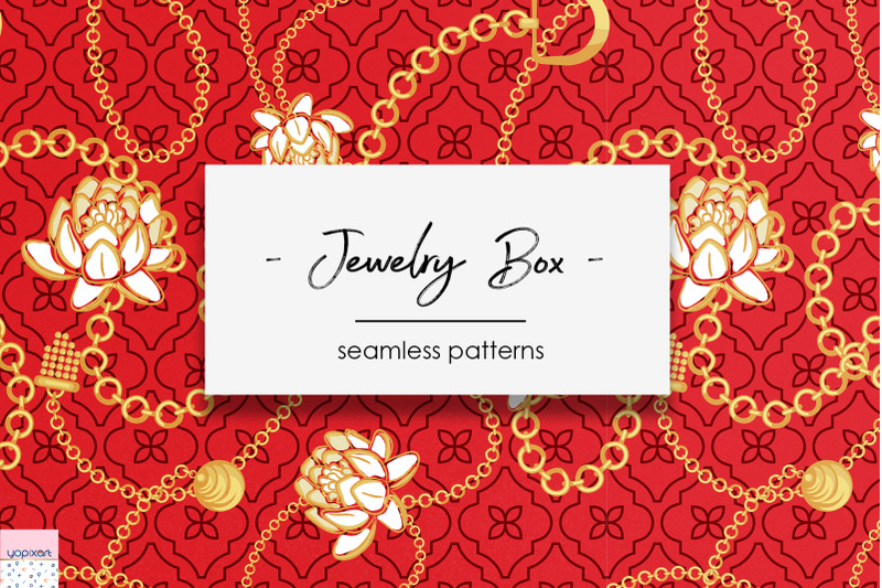 quot-jewelry-box-quot-seamless-patterns