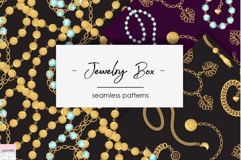 quot-jewelry-box-quot-seamless-patterns
