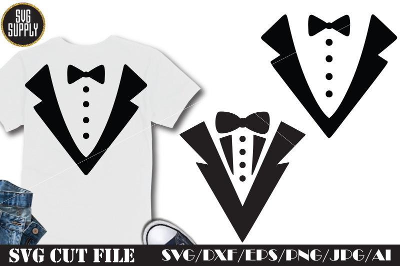 tuxedo-fashion-svg-cut-file