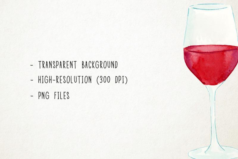 watercolor-wine-clipart-wine-clip-art