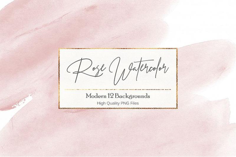 watercolor-rose-textures