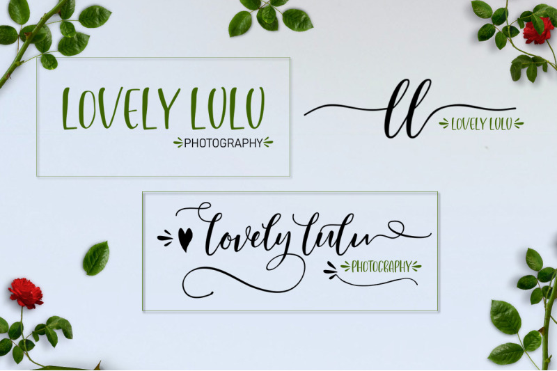 lovely-buttering-font-duo-amp-extras