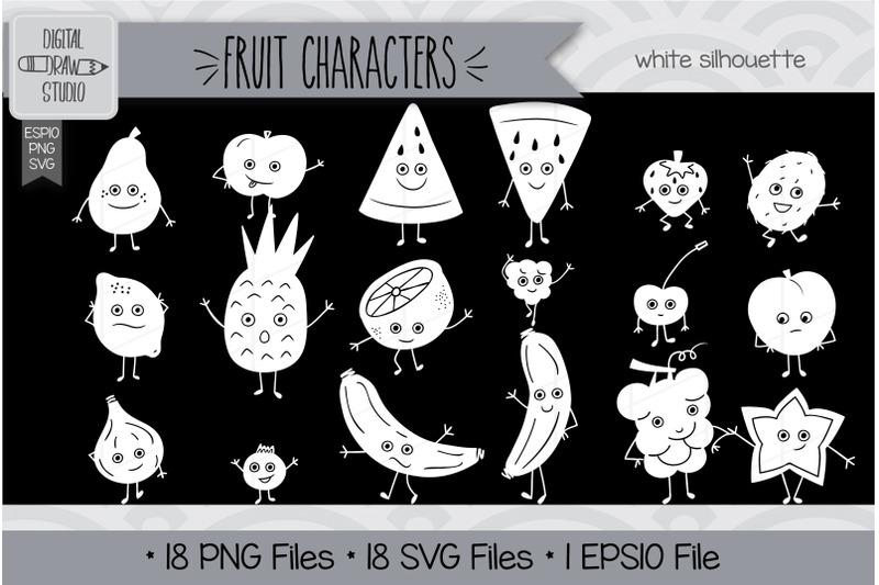144-fruit-characters-doodles-hand-drawn-illustrations-bundle