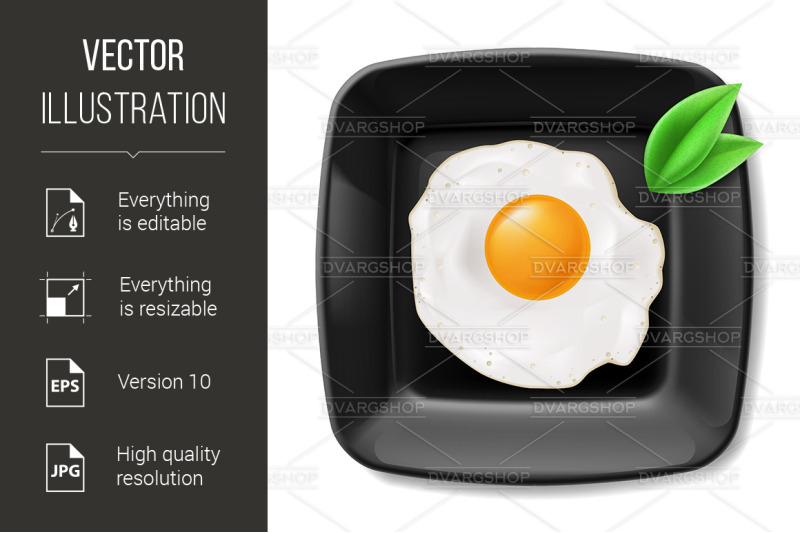 fried-eggs-served-on-black-plate