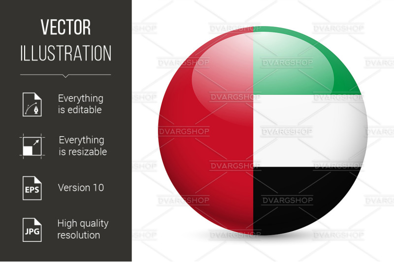 round-glossy-icon-of-uae