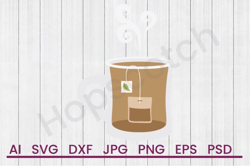 hot-tea-svg-file-dxf-file