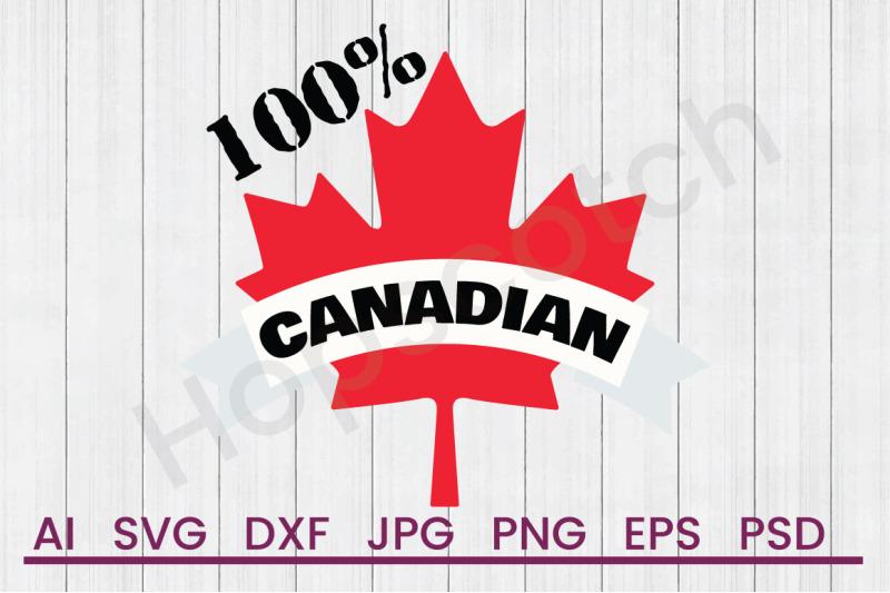 100-canadian-svg-file-dxf-file