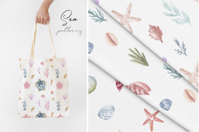 watercolor-sea-collection-patterns-and-cliparts