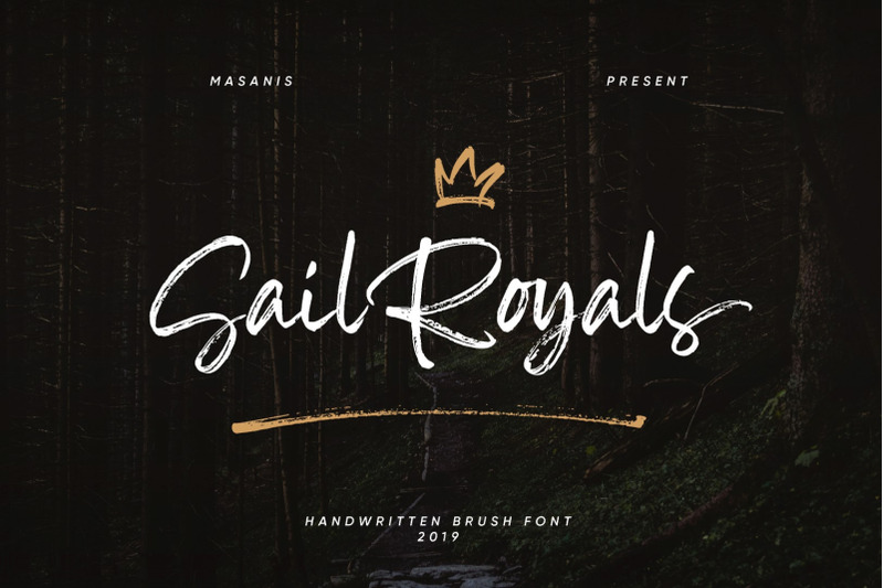 sail-royals-handwritten-brush-script