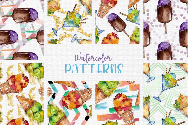 ice-cream-sundae-watercolor-png