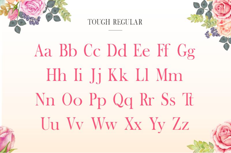 tough-serif-font