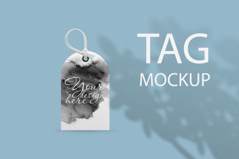 Free Luggage Tag Mockup (PSD Mockups)