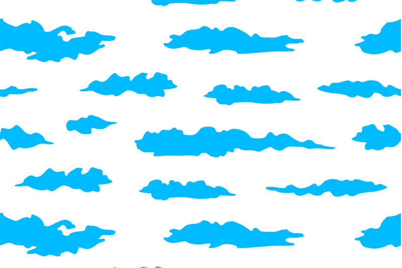 set-of-clouds-pattern