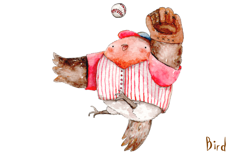 watercolor-baseball-animals-9-png-jpeg-illustrations