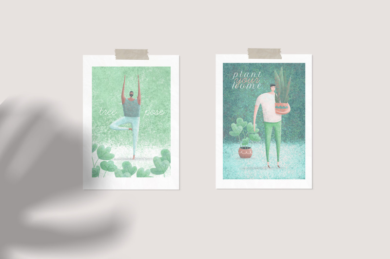 cityzen-relaxing-illustrations-set