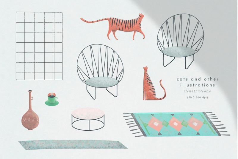 cityzen-relaxing-illustrations-set