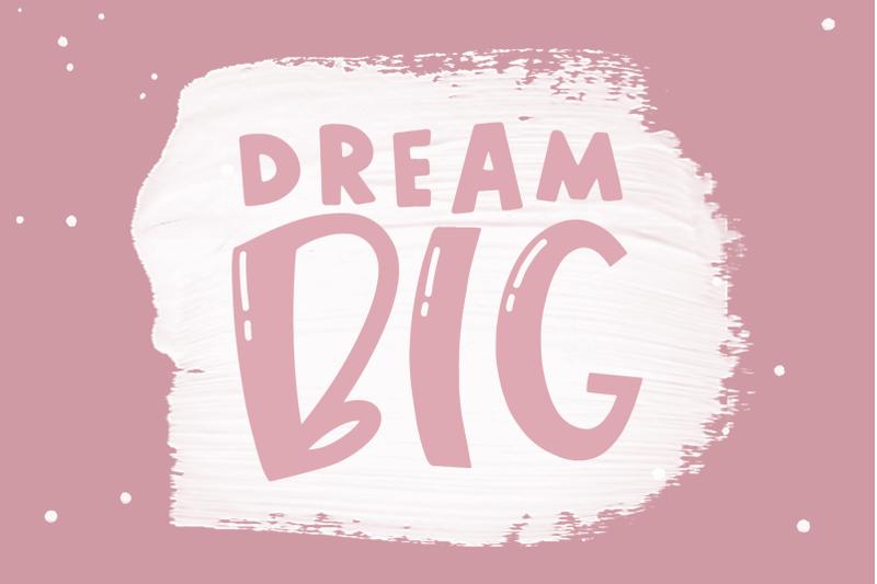 ice-cream-a-quirky-handwritten-font