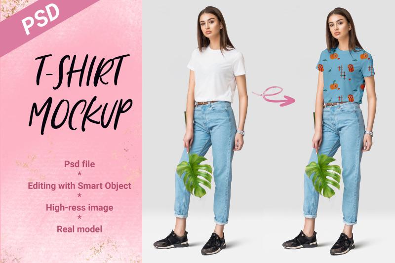 female-t-shirt-mockup