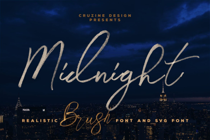 midnight-brush-amp-svg-font