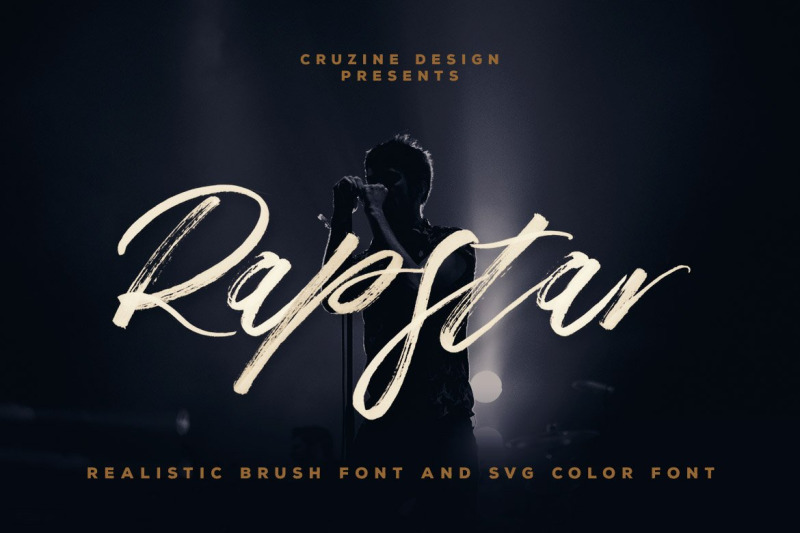 rapstar-brush-amp-svg-font