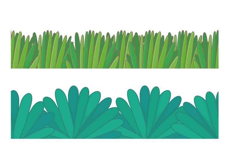 green-grass-border